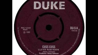 Lloyd Robinson - Cuss Cuss