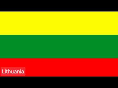 Lithuania (1950-1990) Anthem