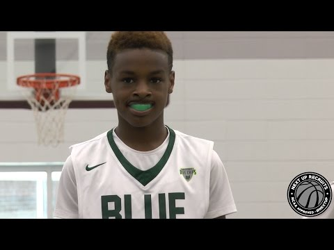 LeBron James Jr. goes to WORK at AAU National Gear Up - Bronny & the Blue Chips BALL in Indy!