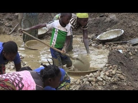 Lust for gold fuels conflict in Central African Republic