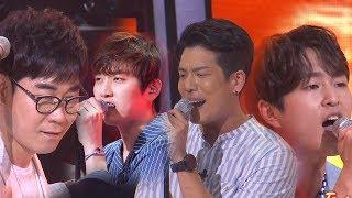 김연우, 꽃 성대 발라더 F4와 함께 댄스 작렬 '루시퍼' 《Fantastic Duo 2》 판타스틱 듀오 2 EP11