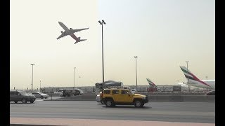 Air India Express take-off captured at Dubai International Airport