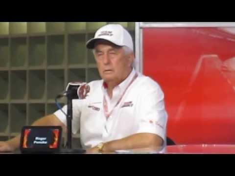 Roger Penske Discusses His Teams TMS Victory!