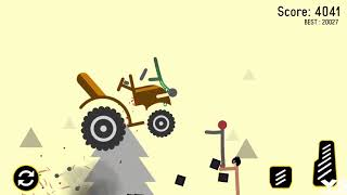 Stickman Turbo Dismount : Mad Destroyer | Stickman Bad Driver - Android GamePlay#16 HD