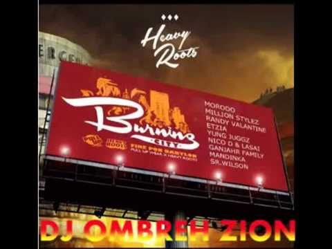 Burning City Riddim (Heavy Roots & La Cupula Music 2014) mix By DJ OMBREH ZION