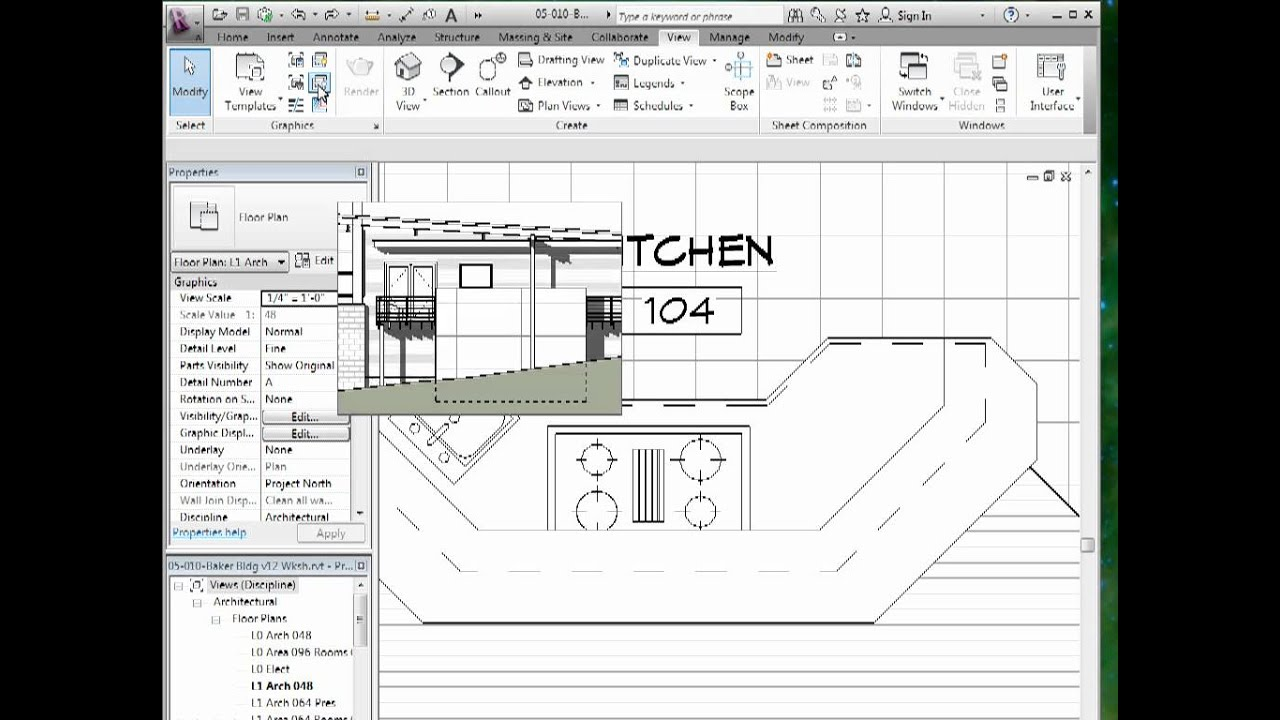 Drawing Lines In Revit : Using show and remove hidden lines tools in revit