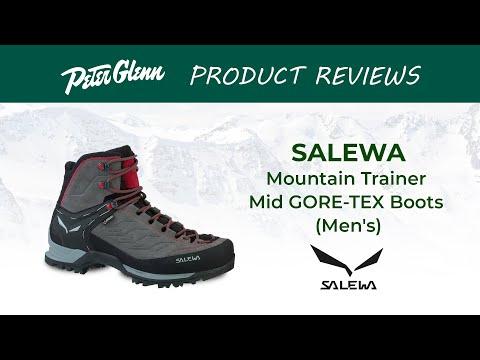 Salewa Men's Mountain Trainer Mid GTX Boot YouTube