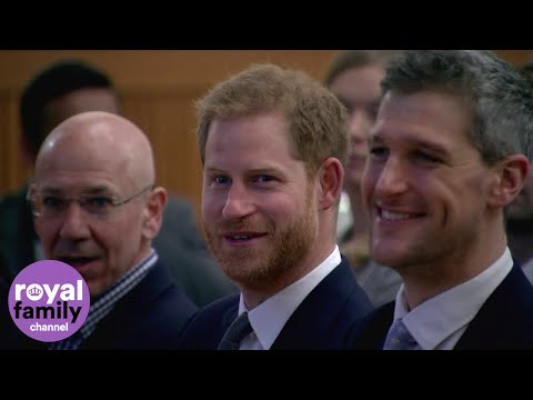 Duke of Sussex attends Veterans' Mental Health Conference