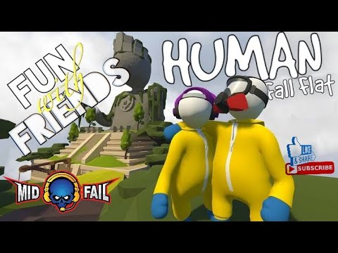 Human Fall Fat | Funny Game Play | Road to 110K Subs(21-08-2019)