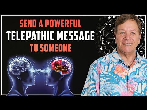 100% ✅Send A Powerful Telepathic Message To Anyone - Manifest Your Goals