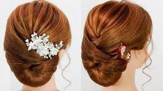 振り袖 成人式 着物に合うまとめ髪/ネープ寄りアップヘアスタイル