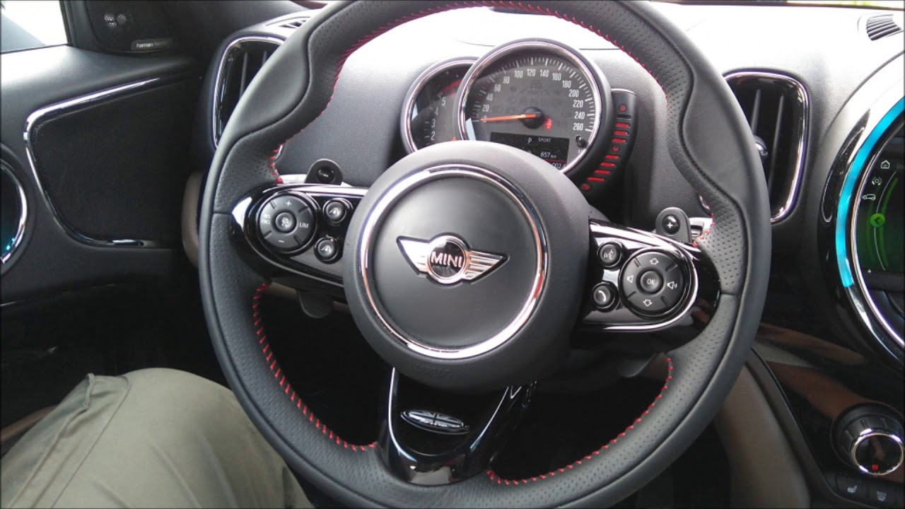 Mini Cooper Sd Countryman F60 2018 Retroing Paddle Shifters