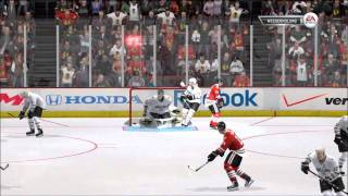 NHL 12: Gameplay Blackhawks vs. Stars | XBOX 360 HD (FULL GAME)