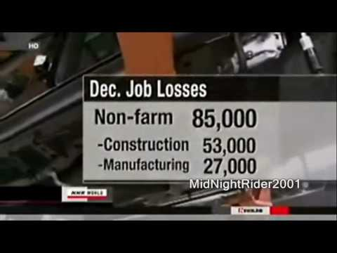 2009 Worst Job Losses In History