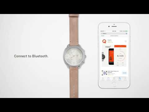 How To: Set Up Your Fossil Q Slim Hybrid Smartwatch