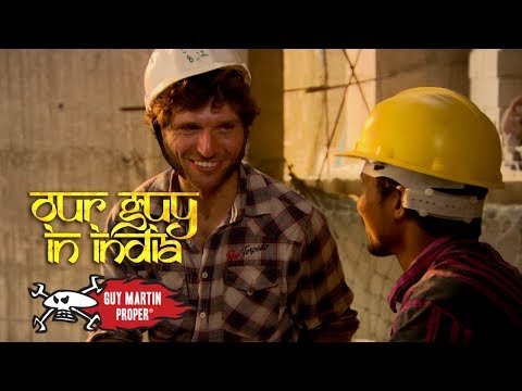 On Construction In Mumbai - Our Guy In India | Guy Martin Pr