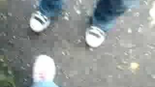 Pied droit et pied gauche