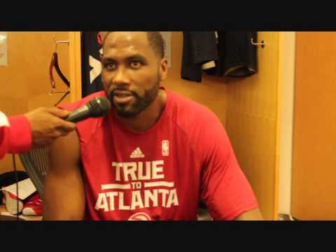 Post Game interviews - Elton Brand game 1