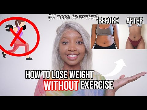 how-to-lose-weight-fast-without-exercise