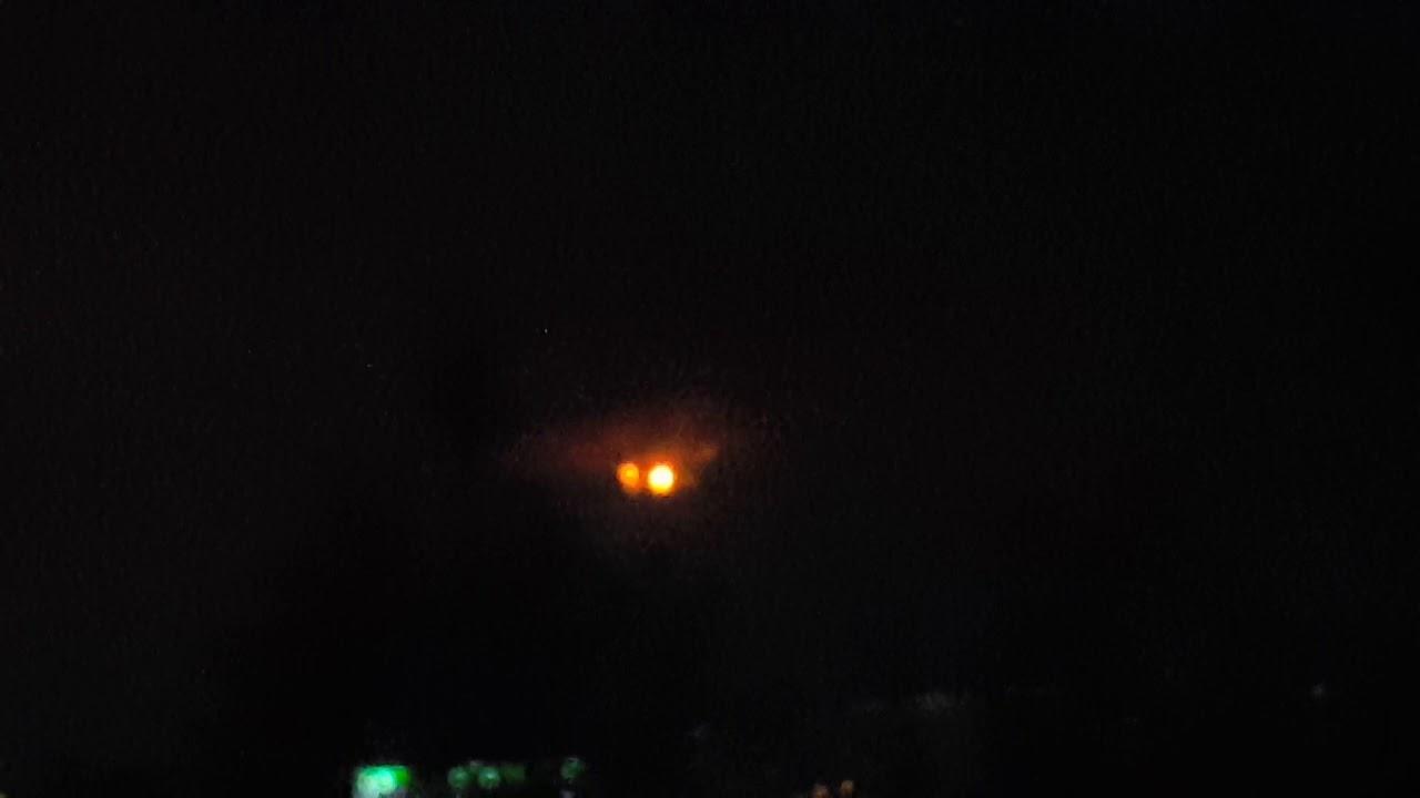 Verdugo Mountains Night
