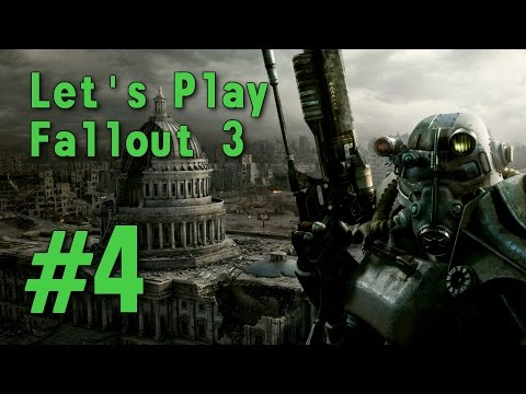 ASMR Let's Play Fallout 3 (PC) #4 - Megaton to Springvale School