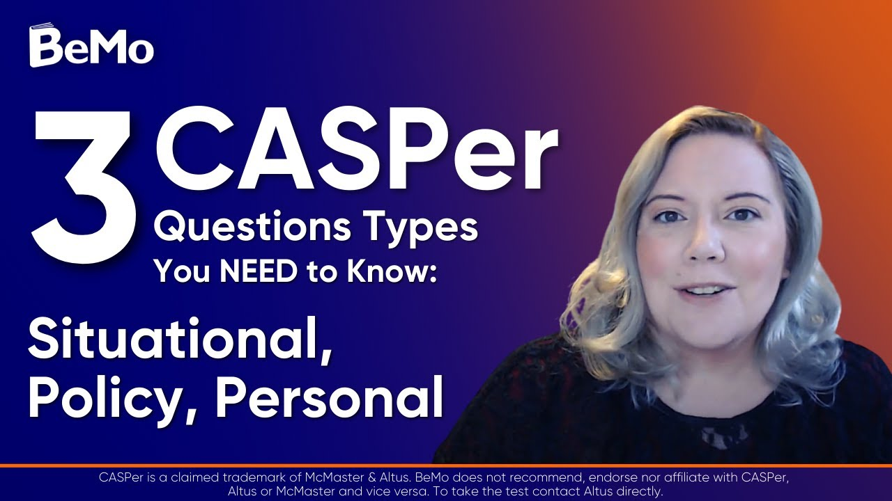 5 Official Sample CASPer Test Questions & Answers to
