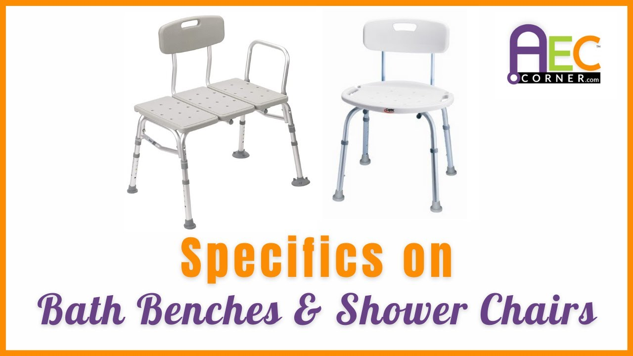 Specifics about a Bath Tub Transfer Bench and Bath Chair - YouTube