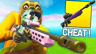 THE NEW ''FUSIL OF SNIPER OF ÉCLAIRE'' IS THE MORE CHEATONON ON FORTNITE!