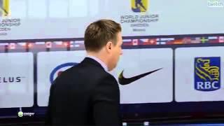 Драка после матча Швеция - Россия