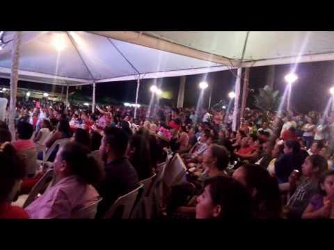Elección y Coronación de la reina de Nahuizalco. Fiestas Patronales de Nahuizalco 2016