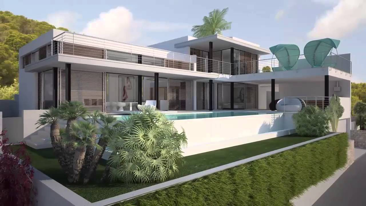 Ultra modern luxury villa for sale on ibiza luxury for Villa ultra moderne
