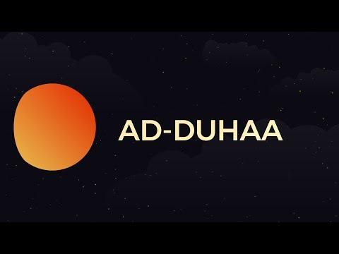 Surah Ad-Duhaa - Day 18 - Ramadan with the Quran