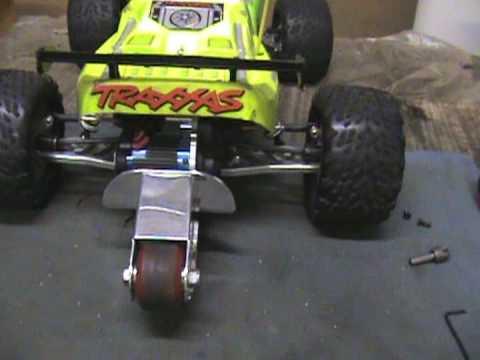Vxl Rustler New Wheelie Bar Youtube