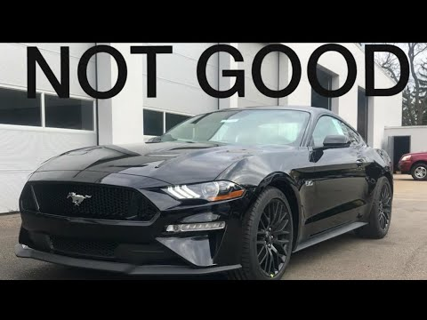 BAD NEWS about my 2018 Ford MUSTANG order!