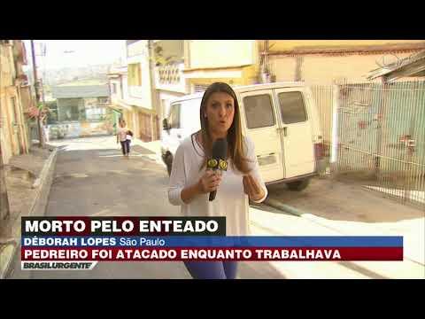 SP: Pedreiro é assassinado pelo enteado