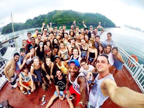 Castaway Tour - Hanoi Backpackers  at Ha Long Bay