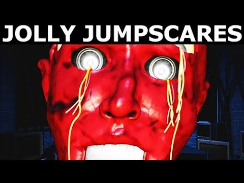 JOLLY 3: Chapter 2 - Jolly Animatronic Jumpscares & Voices (FNAF Horror Game 2018)
