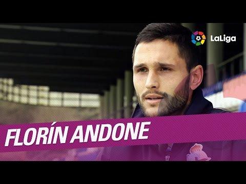 El Protagonista: Florin Andone, jugador del Deportivo de la Coruña