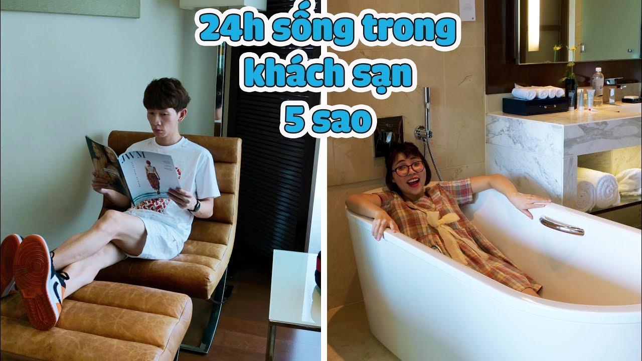 Thử Thách 24 Giờ Sống Trong Khách Sạn 5 Sao