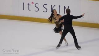 민유라 & 알렉산더 겜린 Yura MIN & Alexander GAMELIN   SD   2017-07-29 올림픽 1차 선발전