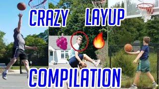 CRAZY LAYUPS COMPILATION!!