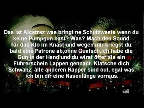 Farid Bang & Kollegah - Drive byl Lyrics on Screen l (HD)