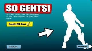 Get FREE Fortnite BOOGIE DOWN EMOTE! | SO GEHTS! - Fortnite Battle Royale | The Fruit Dwarf