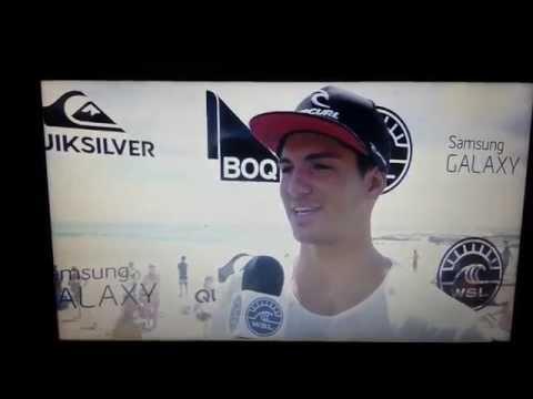 Gabriel Medina's interview after losing to Glenn Hall - World Surf League