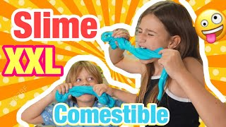 🤪 How to make SLIME XXL to EAT ! | (SLIME with DIPPERS) GIANT SLIME
