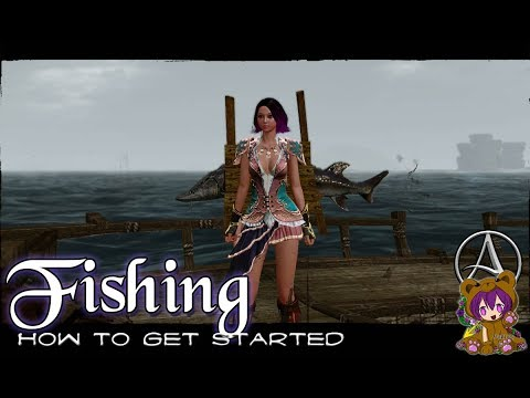 ArcheAge Unchained - How To Get Started On Fishing
