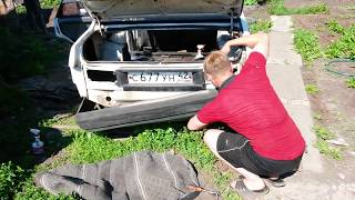 видео Снятие бампера ВАЗ 2109 (переднего и заднего)