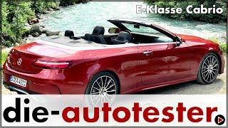 Mercedes E-Klasse Cabrio - Die neue offene E-Klasse im Test | Mercedes-Benz | Fahrbericht | Deutsch