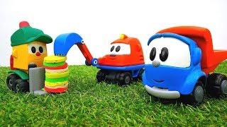 Araba oyunları: Leo Junior Scoop`un Doğum Gününde