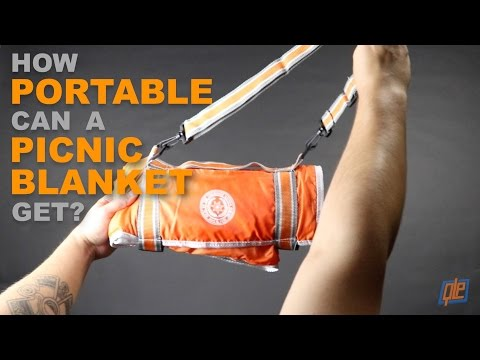 How Portable Can a Picnic Blanket Get?
